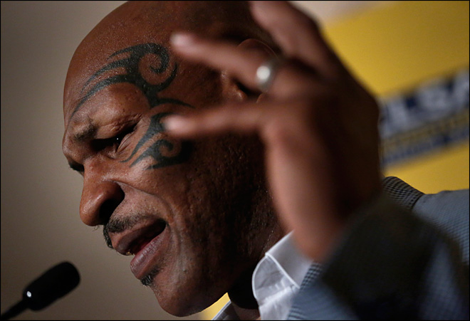 Mike Tyson sues Live Nation over alleged embezzlement