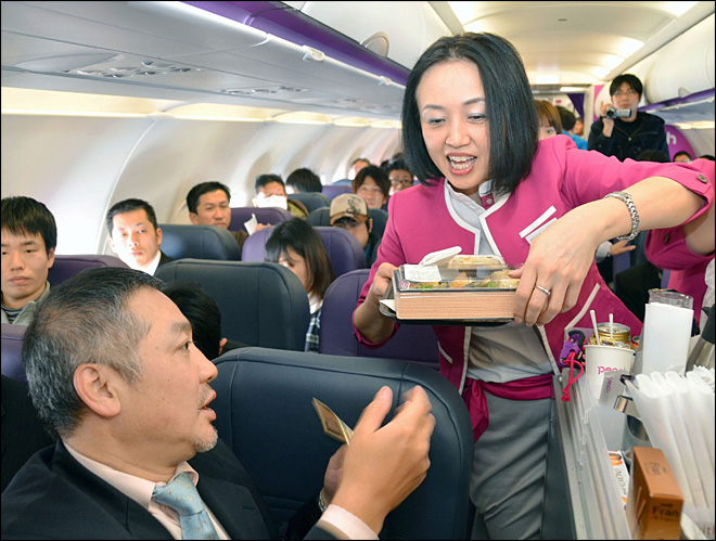 Low cost flying arrives in luxury loving Japan