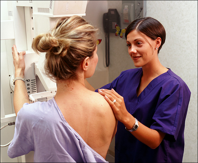 Is a mammogram the best way to fight breast cancer?