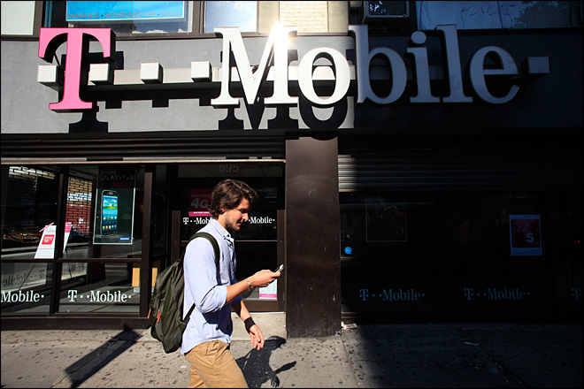 T-Mobile gets rid of contracts for cellphones