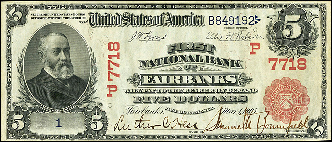 Rare $5 bill could fetch $300,000 at auction