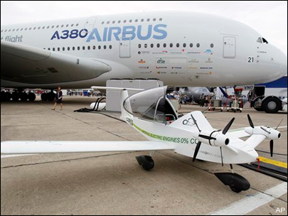 Airbus maker downgraded after shareholder overhaul