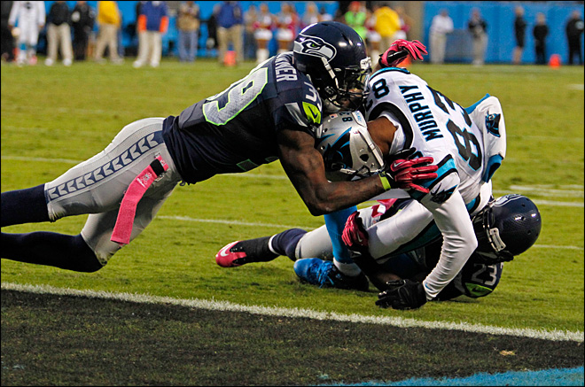 Seahawks hold on to top Panthers, 16-12