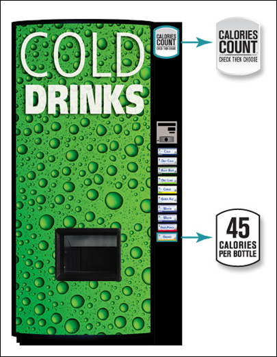 Soda industry: Vending machines will show calories
