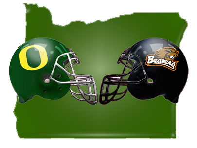 Watch Oregon Civil War Football Game in Portland @ Bazi Bierbrasserie