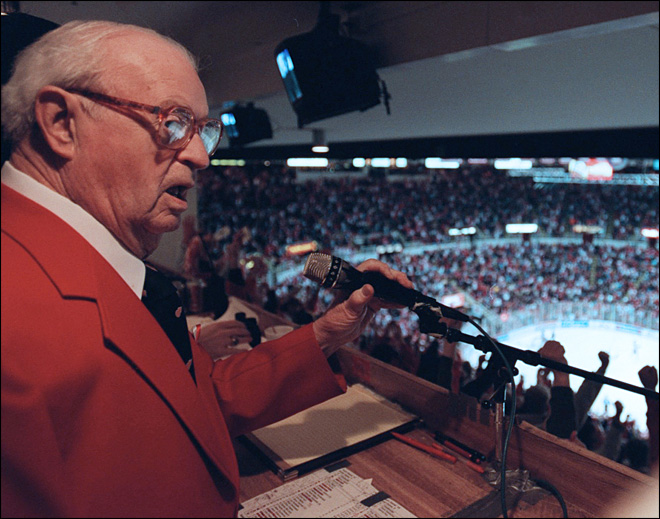 Longtime Red Wings announcer Lynch dies at 95