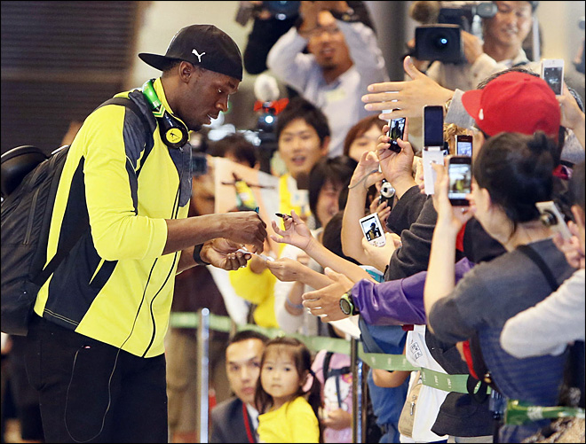 Usain Bolt says he may try soccer in retirement