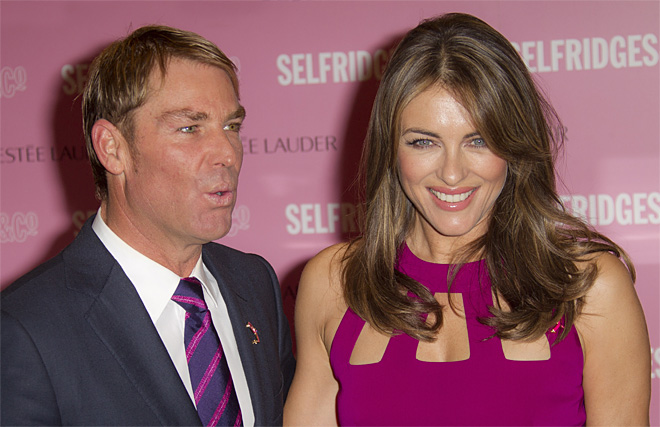 Elizabeth Hurley Selfridges Breast Cancer Care
