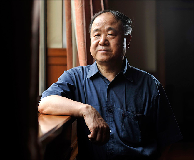 Chinese writer Mo Yan wins Nobel literature prize