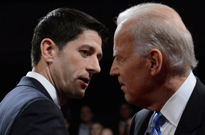 VP Debate: Biden, Ryan at each other in a moment