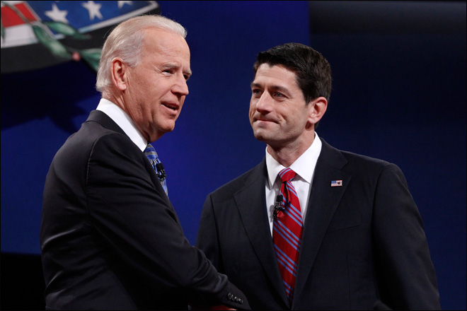 Biden, Ryan lively debate taxes, Medicare, foreign affairs