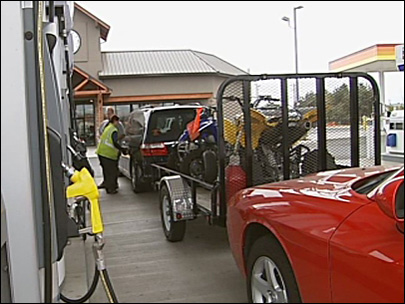 Ten fuel options at one gas station