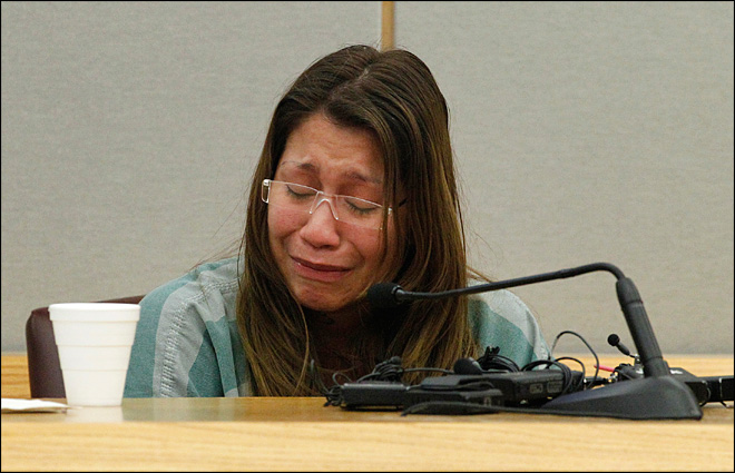 Mom gets 99 years in prison for gluing tot's hands