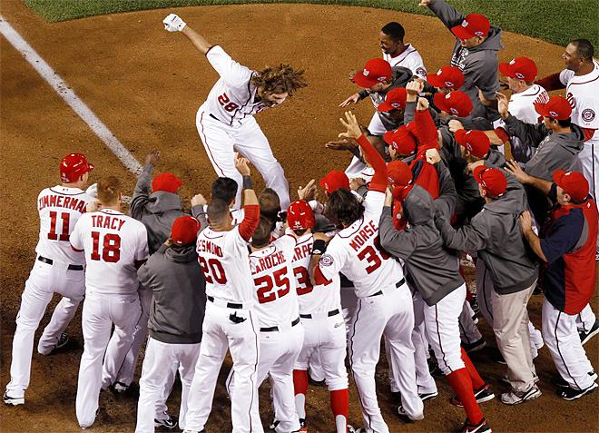 APTOPIX NLDS Cardinals Nationals Baseball