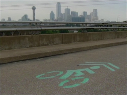 Bogus bike lanes are showing up on Dallas streets