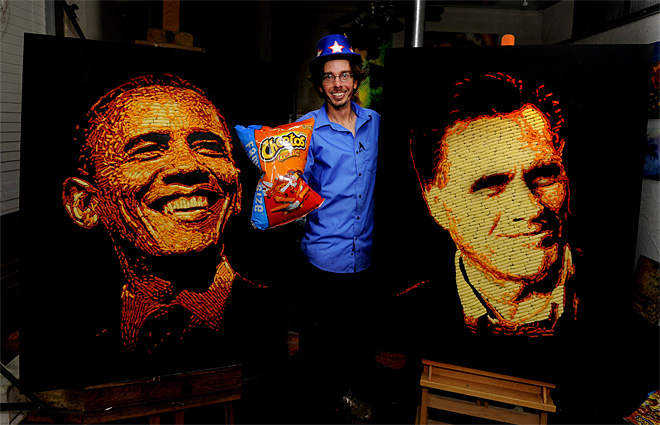 Cheetos Election Portrait Shoot