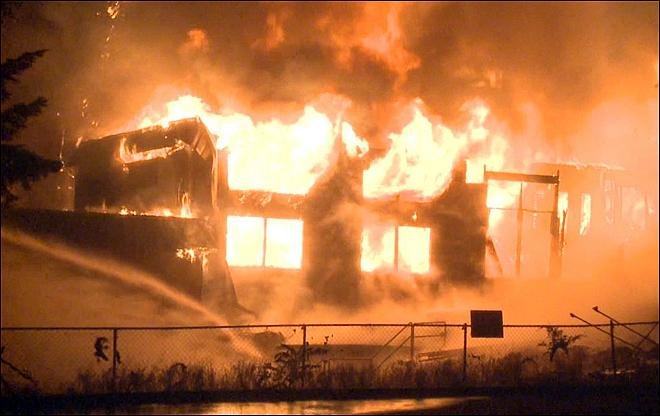 Fire destroys Sikh temple under construction in Vancouver