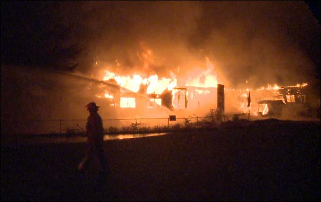 Sikh Temple Fire in Vancouver
