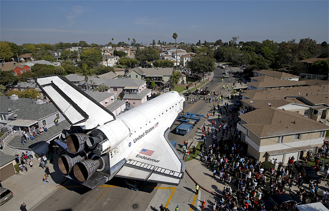 APTOPIX Space Shuttle Last Stop
