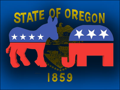 Oregon voters increasingly shun major parties