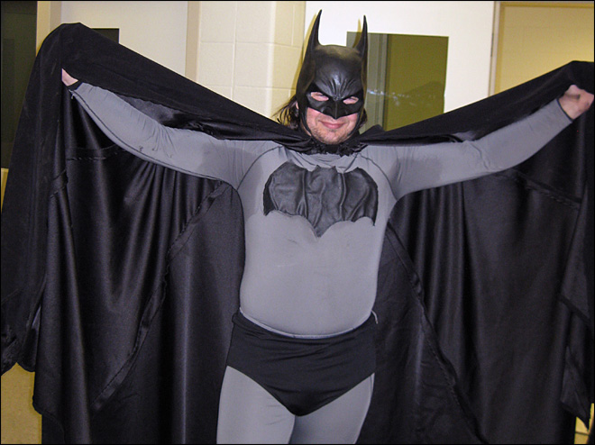Michigan 'Batman' says he has good intentions