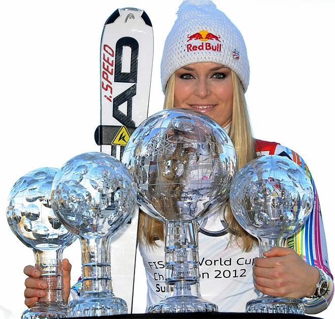 Olympic ski champion Vonn wants to race men at World Cup