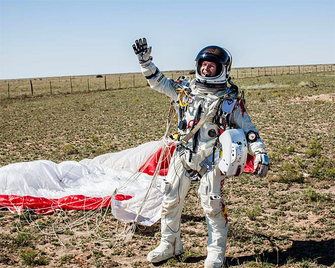 Supersonic Skydiver Suit