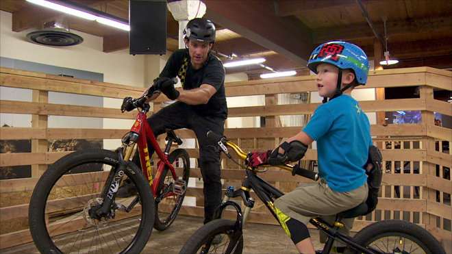 Rain not a problem at Oregon indoor mountain bike park