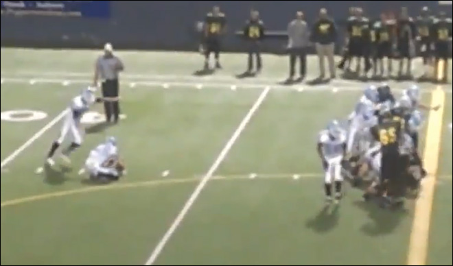 Spokane kicker nails record 67-yard field goal