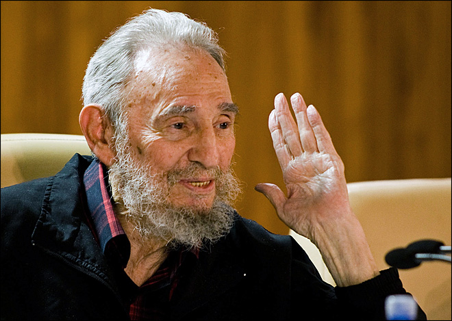 Cuban hotel official: Fidel Castro appears in public