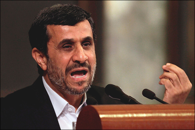 Ahmadinejad wants to be Iran's first astronaut