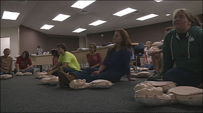 Teaching a new CPR: 'We went from 12% to a 50% survival rate'