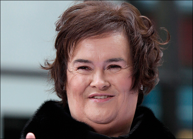 Susan Boyle says Asperger's diagnosis was a relief