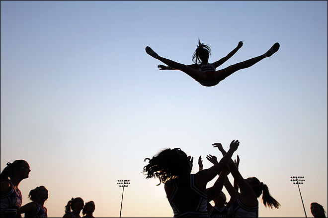 Docs call for safety rules as cheerleading injuries climb
