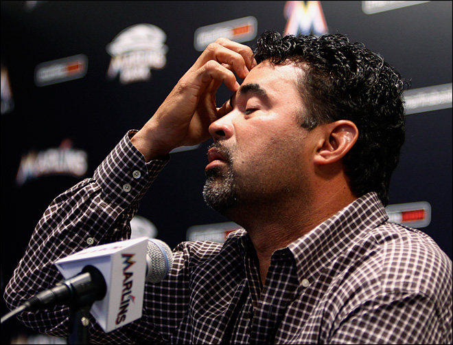Guillen fired as manager of last-place Marlins