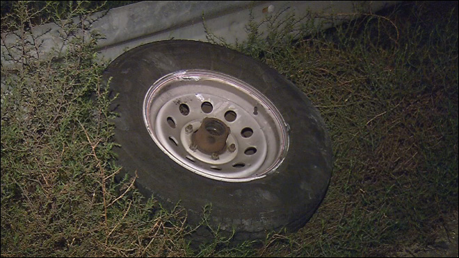 Tire mishap blamed for deadly crash