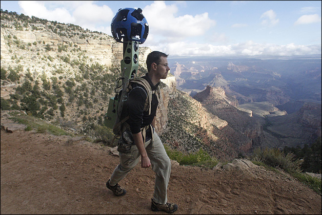 Google takes Street View to Grand Canyon trails