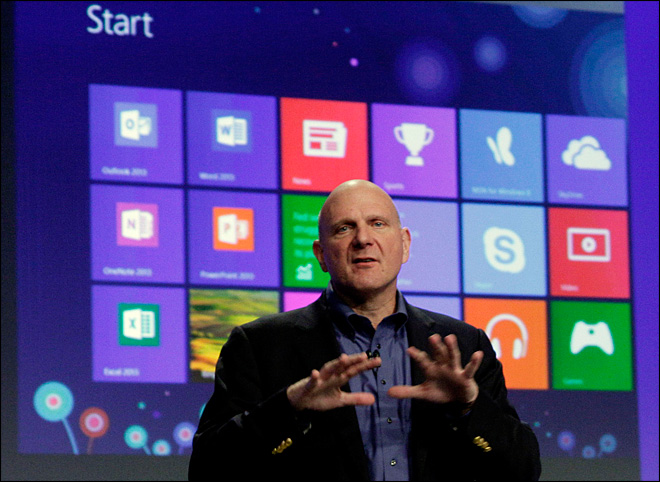 Windows 8 kickoff a subdued affair, theatrics absent