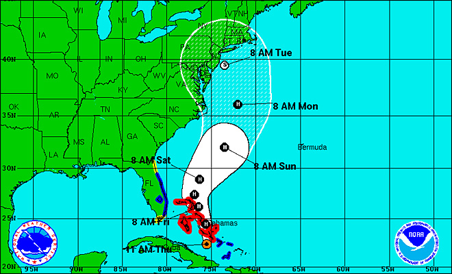 NOAA to East Coast: Beware of coming 'Frankenstorm'