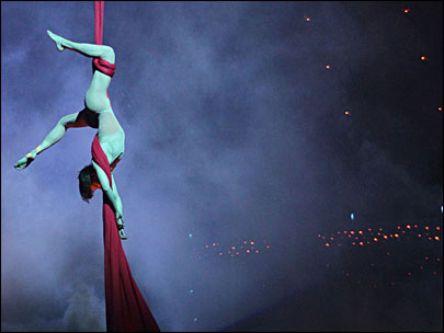 Cirque du Soleil 'Quidam' swoops into Matt Court