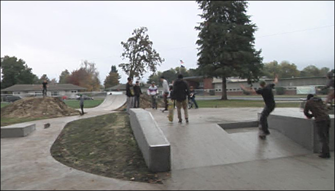 Grand opening for skate park in Junction City