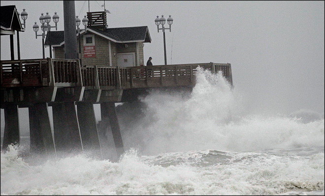 Superstorm threat launches mass evacuations on East Coast