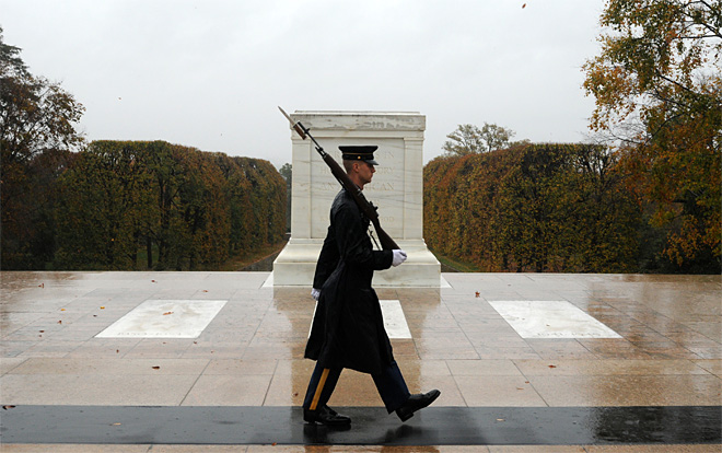 Superstorm Tomb of the Unknowns
