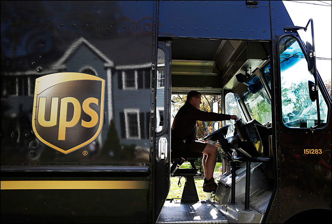 UPS expects to deliver 527 million holiday packages