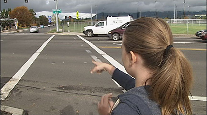 Girl: Driver hit me in crosswalk, said 'Oops' and drove off
