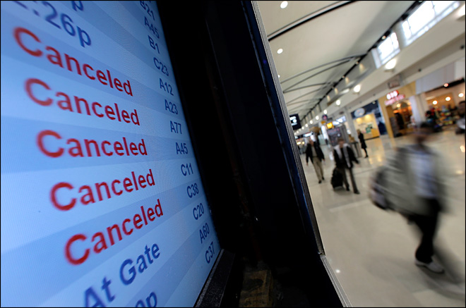 For travelers, Sandy's aggravation spans globe