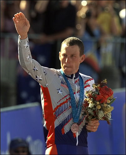 IOC ready to take away Armstrong&#39;s Olympic medal