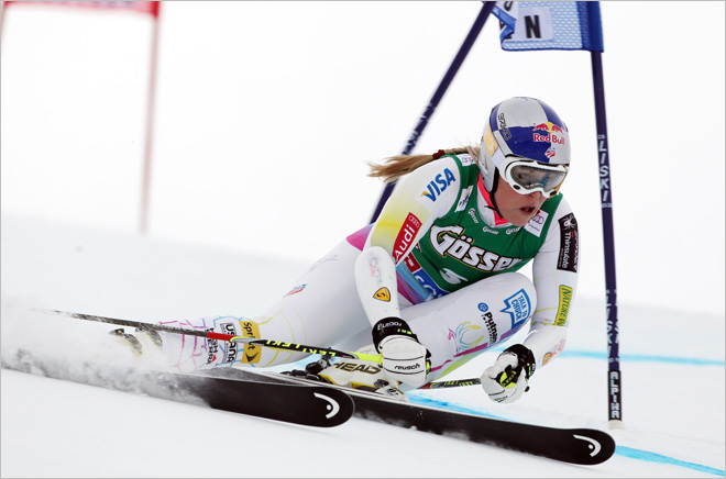 Vonn being tested for 'severe intestinal pain'