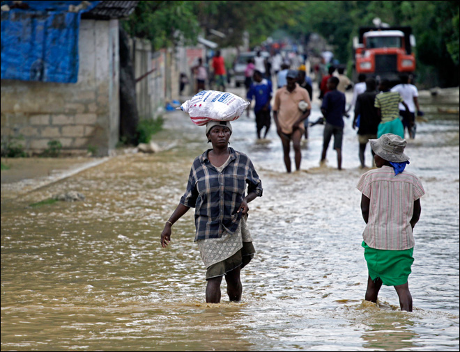 Haiti PM appeals for emergency aid following Sandy