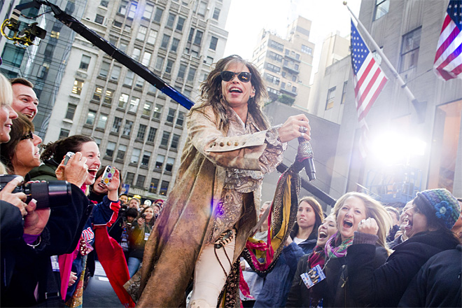 Aerosmith on Today Show